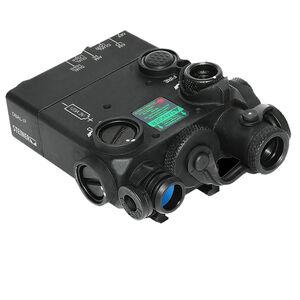 Steiner DBAL-I2 Dual Beam Aiming Laser Intelligent Red Laser/IR Laser Pointer Black