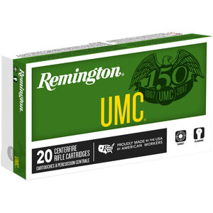 Remington UMC .300 Blackout Ammunition 50 Rounds 120 Grain OTFB 2200fps