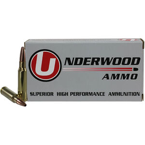 Underwood Ammo .308 Win 20 Round Box 175 Grain Controlled Chaos Lead Free 2600 fps