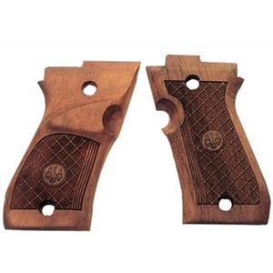Beretta Factory Replacement Part Beretta 87 Target Right Hand Wood Grips Drop In Replacement Walnut E00306