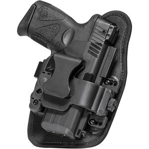 Alien Gear ShapeShift Appendix Carry S&W M&P Shield M2.0 9mm/.40 IWB Holster Right Handed Synthetic Backer with Polymer Shell Black