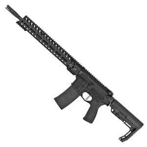 "POF USA Minuteman 5.56 NATO Semi Auto Rifle 16.5"" Barrel 30 Rounds Direct Gas Impingement System 14.5"" M-LOK Free Float Rail Collapsible Stock Matte Black"
