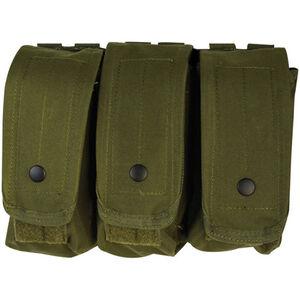 Fox Outdoor AR-15/AK-47 Triple Mag Pouch Olive Drab 57-030