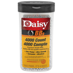 Daisy PrecisionMax Steel .177 Cal BB Zinc Plated 4000 Count Bottle