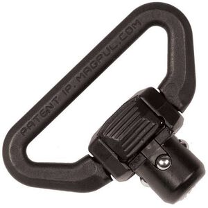 "Magpul Quick Detach QDM Heavy Duty Push Button Sling Swivel 1-1/4"" Sling Loop Steel Melonite Finish Matte Black MAG543"