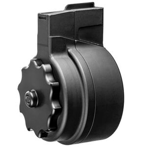 X Products X-91 HK91/G3 Drum Magazine .308 Winchester 50 Rounds Aluminum and Steel Black Finish X-91