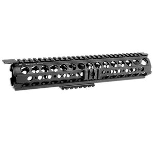 Midwest Industries AR-15 SS-Series Rifle Length Handguard Aluminum Black MI-19SS