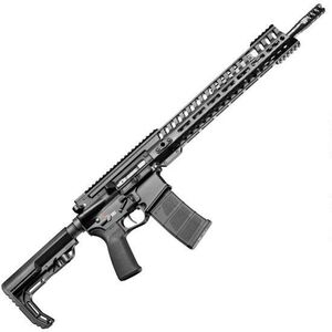 "POF USA P415 Edge Semi Auto Rifle .300 AAC Blackout 16.5"" Barrel 30 Rounds Short Stroke Gas Piston System 14.5"" M-LOK Rail Black Finish"