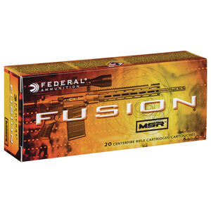 Federal Fusion 6.5 Grendel Ammunition 20 Rounds 120 Grain Fusion Spitzer Boat Tail 2600fps
