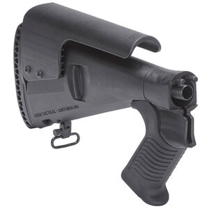 Mesa Tactical Urbino Pistol Grip Stock Benelli M4 Model 12 Gauge Shotguns Riser/Limbsaver Injection Molded Glass Filled Nylon Matte Black 91470