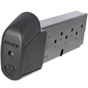 Ruger LC9/LC9S Magazine 9mm Luger 9 Rounds Grip Extension Steel Black 90404