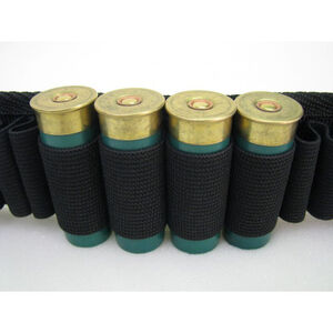 """AMS 2"""" Rifle Shot Shell Belt with Buckle Closure, Large"""