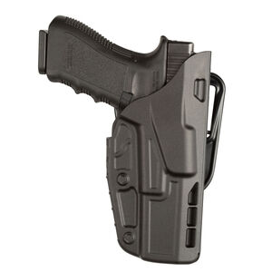 Safariland 7377 ALS Duty Holster fits GLOCK 17/22/31 With Light Belt Loop Platform Right Hand SafariSeven Plain Black