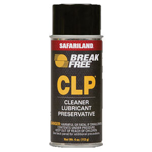 Break Free CLP Cleaner, Lubricant and Preservative 4 Ounce Aerosol Can