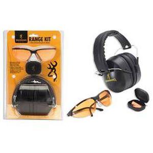 Browning Range Kit Eye and Hearing Protection Black