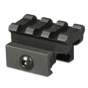 "Lion Gears AR-15 Tactical .75"" Riser Mount 3 Slots 1.45"" Long Aluminum Black BM0307"