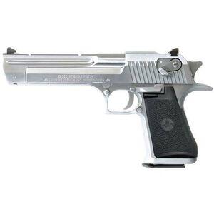 """Magnum Research Desert Eagle Semi Automatic Pistol .44 Remington Magnum 6"""" Barrel 8 Rounds Brushed Chrome DE44CABC"""