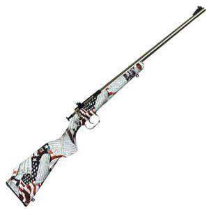"Keystone Arms Crickett Amendment Single Shot Bolt Action Rimfire Rifle .22 LR 16.125"" Stainless Steel Barrel Polymer 2ndAmendment Stock"