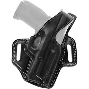 "Galco FLETCH High Ride S&W 686, Colt Trooper/Python 4"" Belt Holster Right Hand Black"
