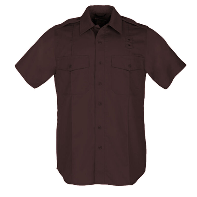 5.11 Tactical Men's A Class Taclite Long Sleeve Shirt Poly Cotton Extra Large Tall Navy 72365