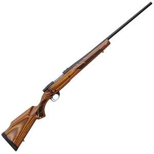 "Weatherby Vanguard Laminate Sporter .300 Weatherby Magnum Bolt Action Rifle 26"" Barrel 3 Rounds Boyd's Nutmeg Laminate Stock Matte Bead Blasted Blued"