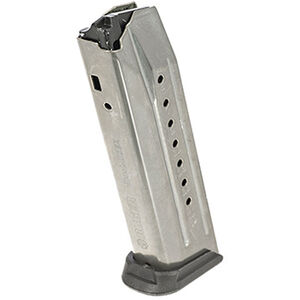 Ruger American Pistol Magazine 9mm Luger 17 Rounds Stainless Steel 90510