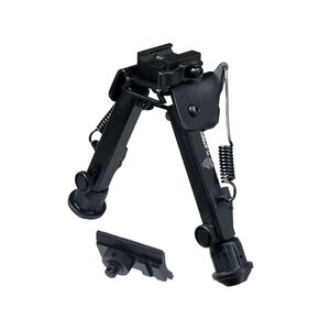 """Leapers UTG Super Duty Bipod With QD Lever Mount 6.0"""" to 8.5"""" Metal Black TL-BP98Q"""