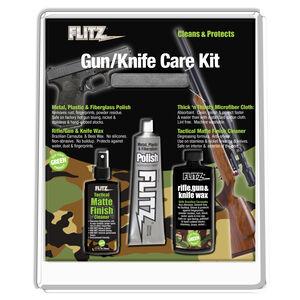 FLITZ Knife & Gun Care Kit Polish, Cleaner, Wax, and Microfiber Cloth