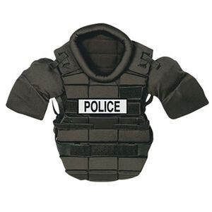 Monadnock Padded Riot Suit Chest Protector Small Black