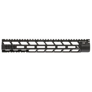 "Bootleg PicLok AR-15 13"" One Piece Free Float Hand Guard Full Length Mil-Spec Picatinny Top Rail 6061 Aluminum Hard Coat Anodized Matte Black Finish"