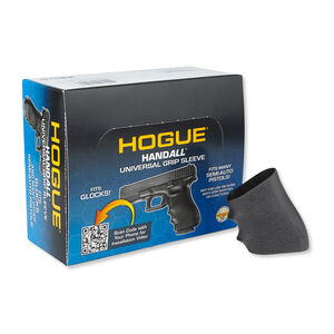 Hogue Handall Grip Sleeve Medium/Full Size Autos Rubber Black 10 Pack 17011