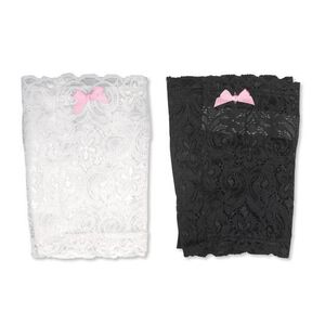 """Bulldog Cases & Vaults Ladies Concealed Carry Lace Thigh Holster Small 17""""-18"""" Thigh Stretch Lace Material Black 2 Pack BD-890"""
