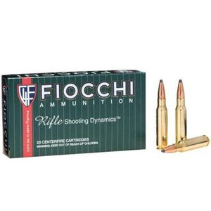 FIOCCHI Shooting Dynamics .308 Win. Ammunition 20 Rounds Hornady InterLock SP 165 Grains 308D