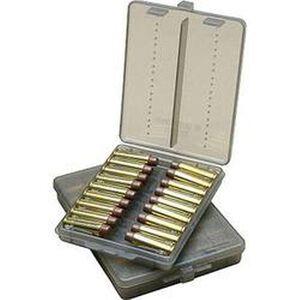 MTM Case-Gard Handgun Ammo Wallet .44 Magnum Caliber Holds 18 Rounds See-Thru Smoke Tint Finish