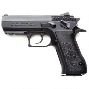 "IWI Jericho 941 FS Mid-Size 9mm Luger Semi Auto Pistol 10 Rounds 3.8"" Barrel Steel Frame Black J941FS910"