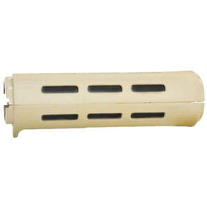 B5 Systems AR-15 Carbine Length Drop-In Style M-LOK Compatible Handguard Polymer FDE