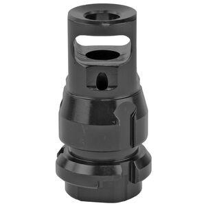 Dead Air Armament .38 Caliber Micro Muzzle Brake/QD Key Mount Suppressor Mount Threaded 5/8x24 Steel Matte Black