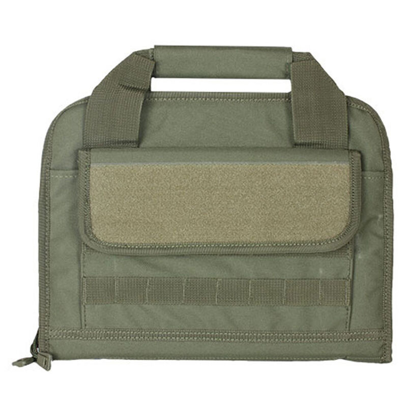 Fox Outdoor Dual Tactical Pistol Case Nylon Olive Drab 54-5300