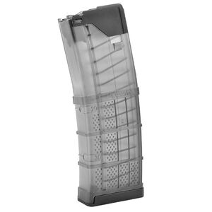 Lancer AR-15 L5 Advanced Warfighter Magazine .223 Rem/5.56 NATO 10 Rounds/Full Size 30 Round Body Polymer Translucent Smoke