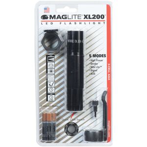 XL200 3 Cell AAA LED, Blister Pack Tactical
