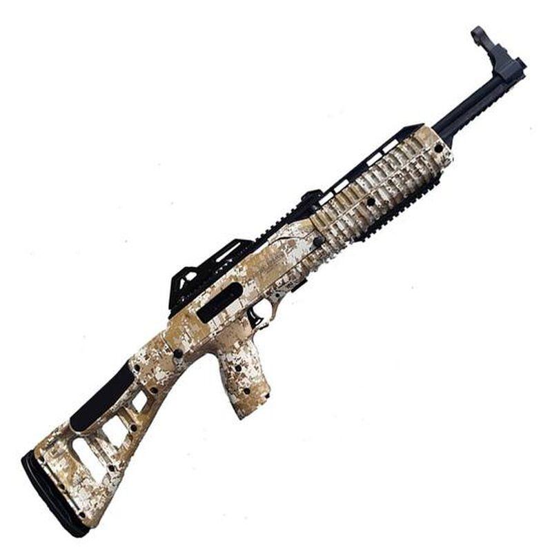 "Hi-Point Carbine Semi Auto Rifle 9mm Luger 16.5"" Barrel 10 Rounds Polymer Stock Desert Digital Camo"