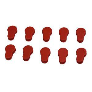 JE Machine Ten Red Keymod Covers