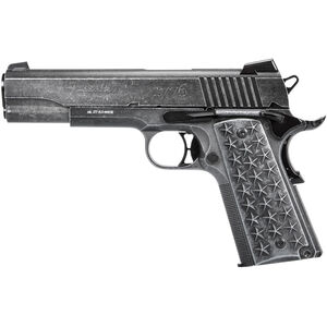 SIG Sauer 1911 'We The People' CO2 BB-Gun Semi Auto Air Pistol .177 Caliber BB 17 Rounds Metal Frame and Slide Patriotic Distressed Finish