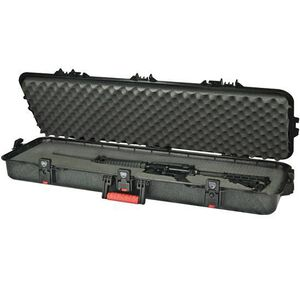 "Plano Gun Guard All Weather Tactical Rifle Hard Case 42"" Plastic Black 108442"