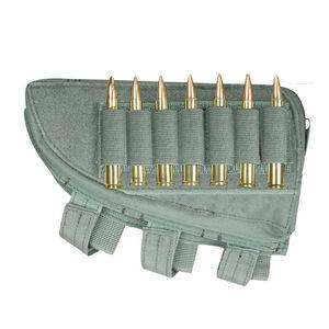 Fox Outdoor Rifle Butt Stock Cheek Rest Left Hand Foliage Green 55-477