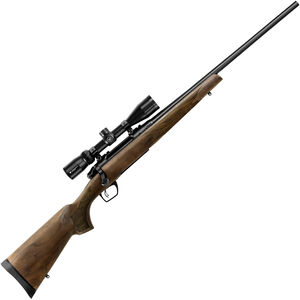 """Remington 783 Walnut Combo Package .243 Win Bolt Action Rifle 22"""" Barrel 4 Rounds with Vortex 3-9x40 Scope American Walnut Stock Blued Finish"""