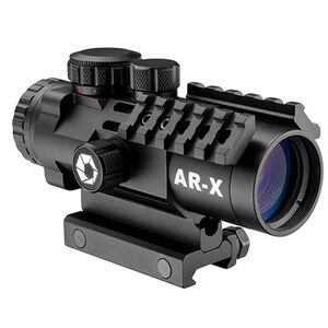Barska AR-X 3x32mm Riflescope Illuminated Mil-Dot Reticle 1/2 MOA Black