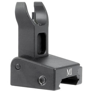 Midwest Industries AR-15 Non Locking Low Profile Front Sight Same Plane Aluminum Black MI-LPFS