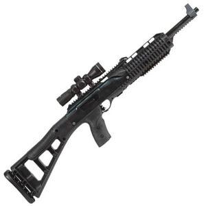 "Hi-Point Firearms Carbine Semi Auto Rifle .45 ACP 17.5"" Barrel 9 Rounds Polymer Stock Black Finish with 4x25 Riflescope 4595TS 4x25"