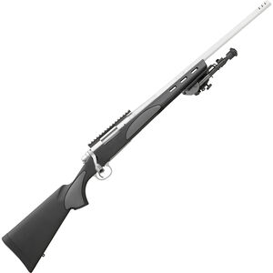 "Remington 700 VTR Stainless .308 Win Bolt Action Rifle 22"" Barrel 4 Rounds Muzzle Brake Bipod Stainless Steel"